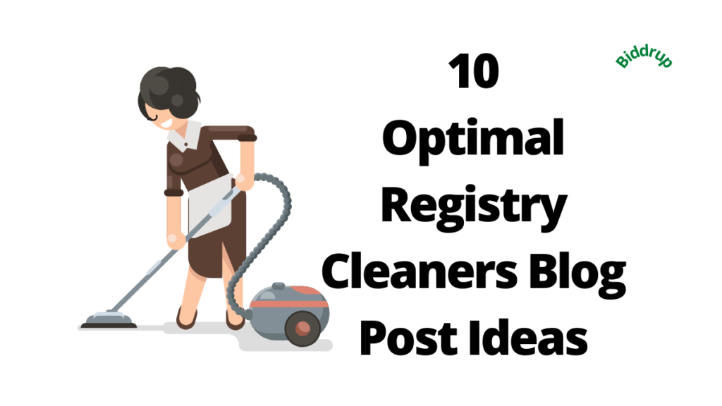 10 Optimal Registry Cleaners Blog Post Ideas