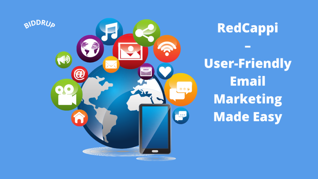 RedCappi – User-Friendly Email Marketing Made Easy