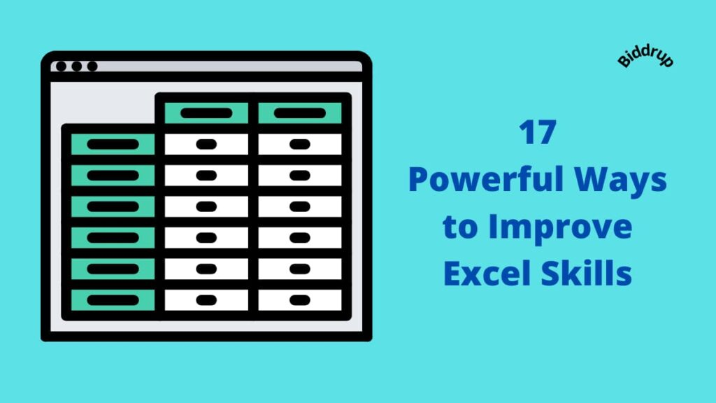 17 Powerful Ways to Improve Excel Skills Biddrup