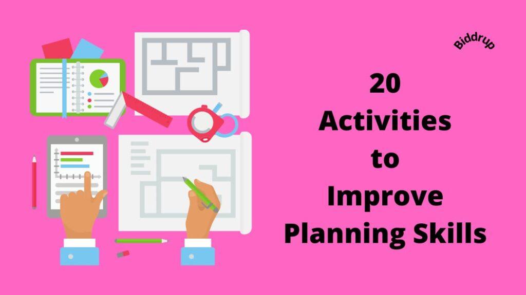 20 Activities to Improve Planning Skills- Tactics and Techniques Biddrup