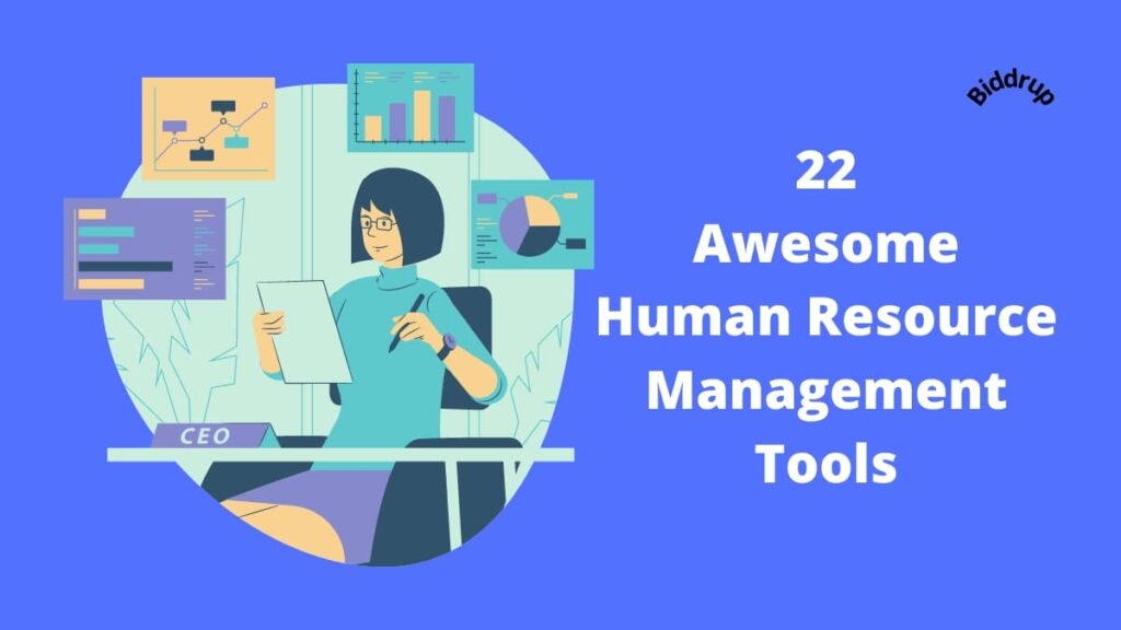 22 Awesome Human Resource Management Tools Biddrup